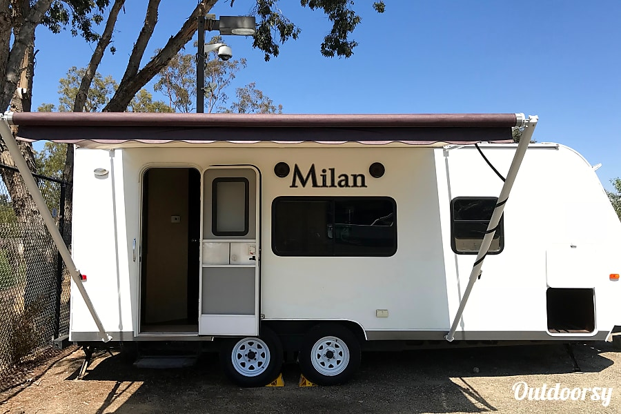 2013 Eclipse Milan Lite Trailer Rental In San Diego Ca
