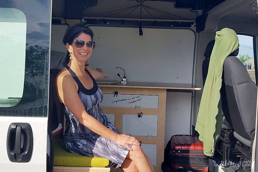 interior High Roof Adventure Camper--Nessie 3.0 Portland, OR