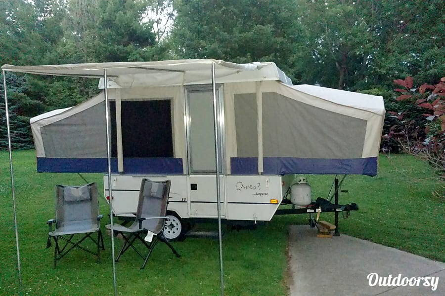 2002 Jayco Qwest Trailer Rental In Westlake Oh Outdoorsy
