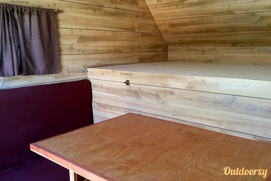 interior Tin Can Tourist - Cozy Camper Visalia, CA