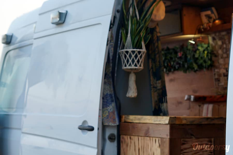 interior Live The Sprinter Van Life! Kings Beach, CA