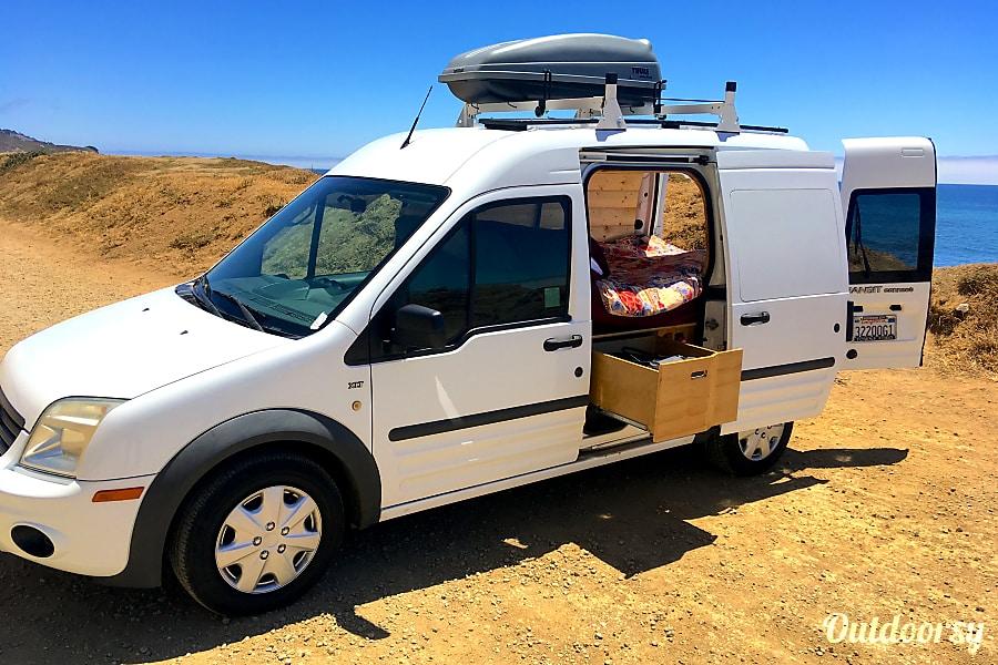 2012 Ford Transit Connect Motor Home Camper Van Rental In