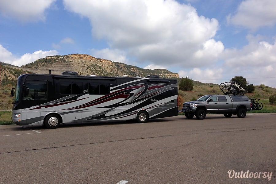 exterior Luxury Forest River Berkshire Diesel Pusher Motorcoach Fort Worth, TX