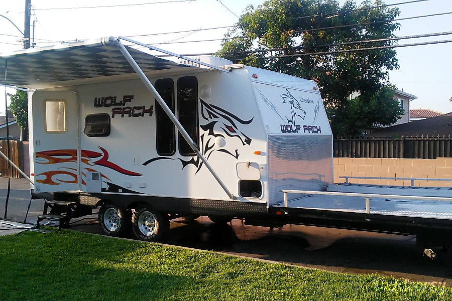 Forest River Rv Reviews >> 2009 Forest River Cherokee Wolf Pack Trailer Rental in ...