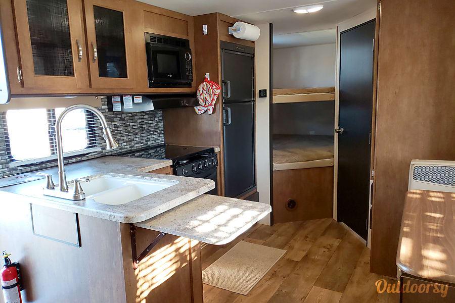 interior 2017 Forest River Salem Cruise Lite Kennewick, WA