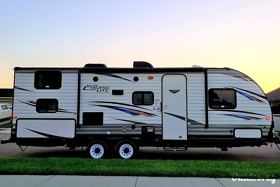 exterior 2017 Forest River Salem Cruise Lite Kennewick, WA