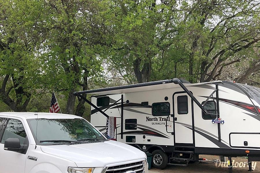 2018 Heartland North Trail Trailer Rental In San Antonio