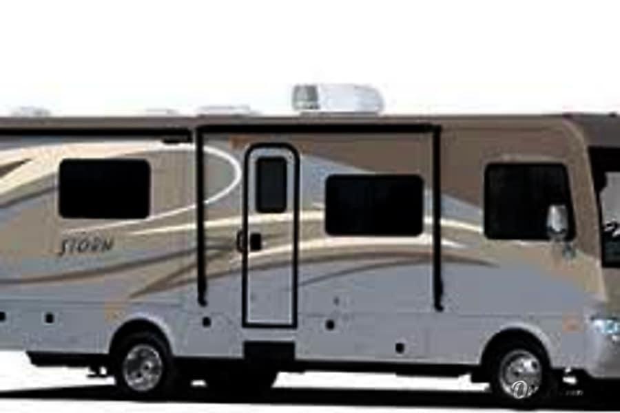 exterior 2014 Fleetwood Storm, with bunk beds Somers, MT
