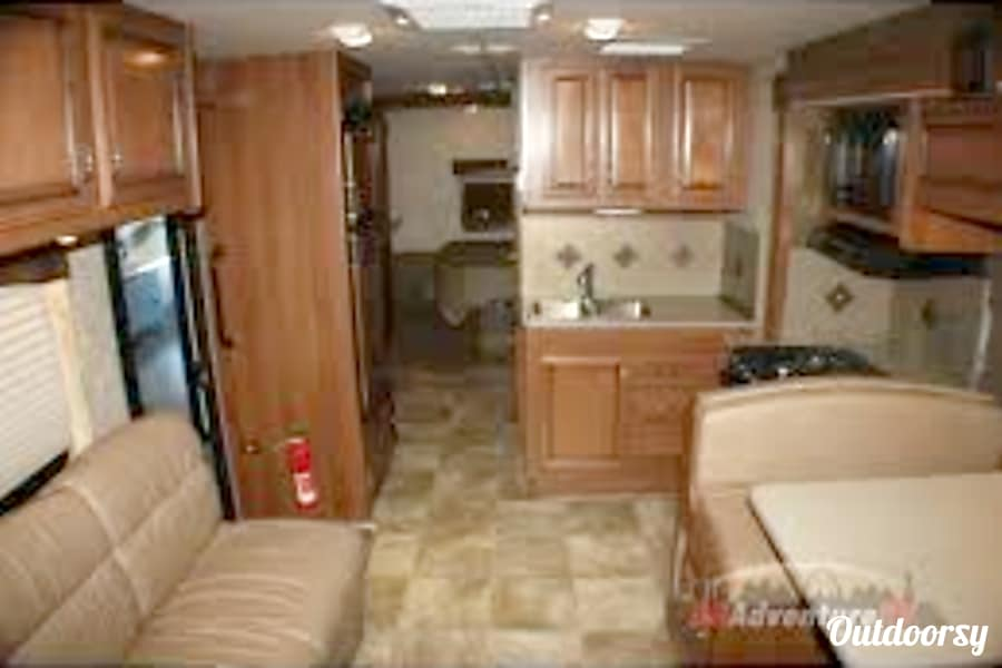 interior 2014 Fleetwood Storm, with bunk beds Somers, MT