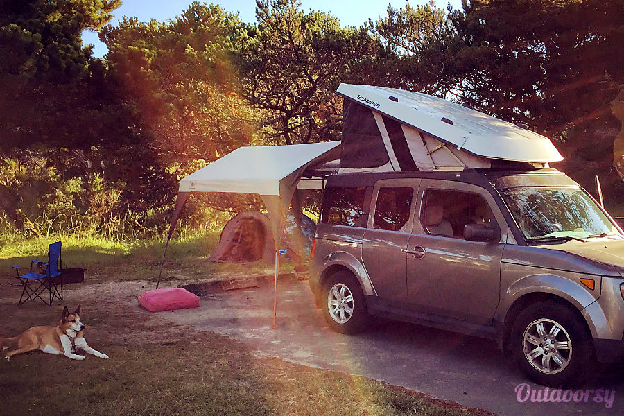 2008 Honda Element Motor Home Camper Van Rental In Seattle Wa