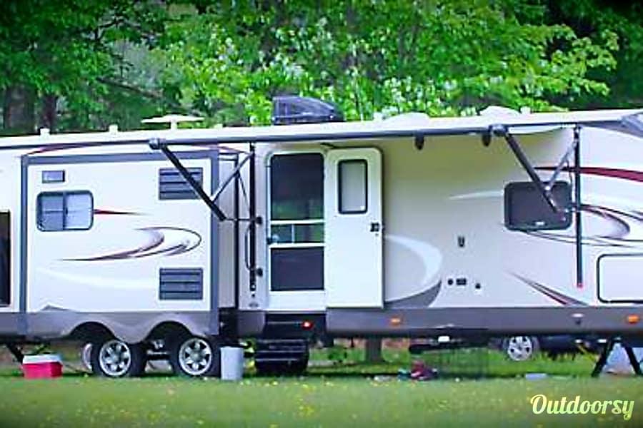 exterior 2016 Forest River Heritage Glen Travel Trailer Sussex, NJ