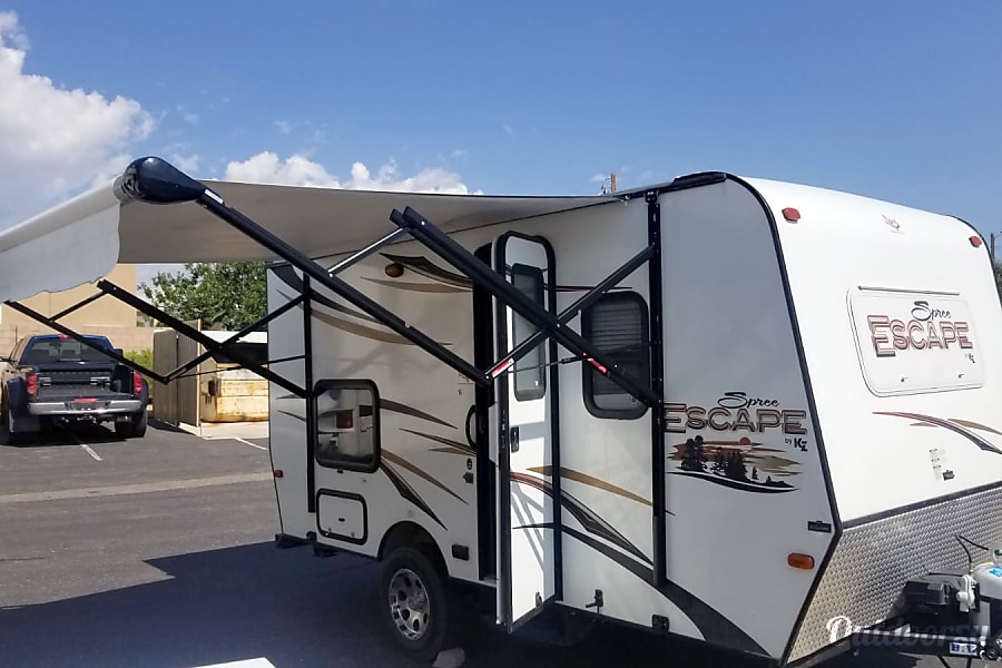 Exterior 2014 K-Z Spree Escape 16BH in Albuquerque, NM