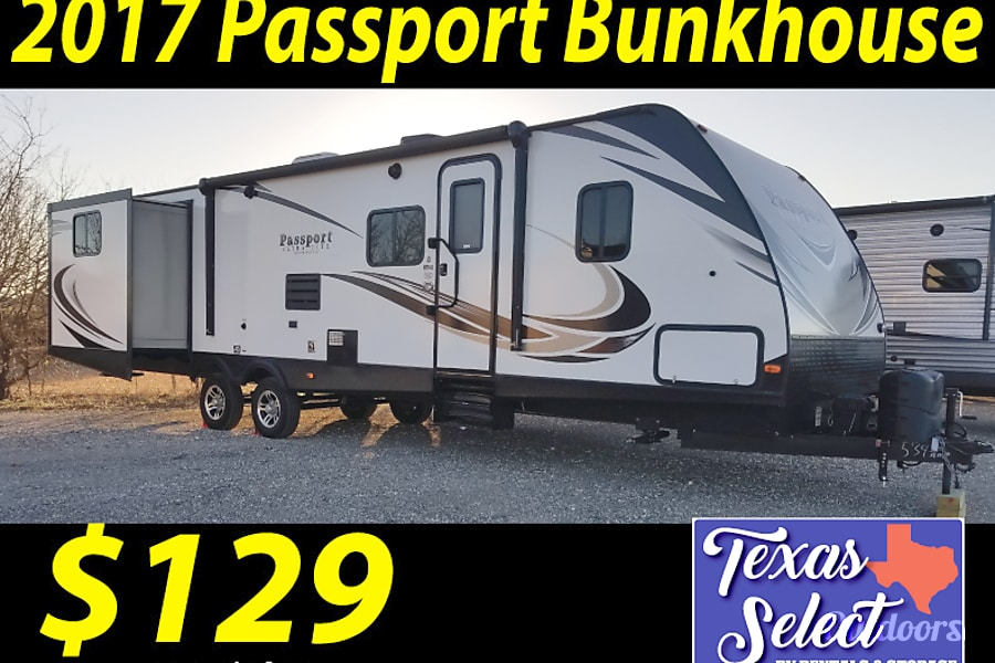 2017 Passport Bunk House Round Rock, TX