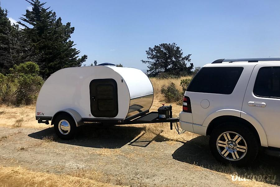 exterior 2018 American Teardrop Travel Trailer Alameda, CA