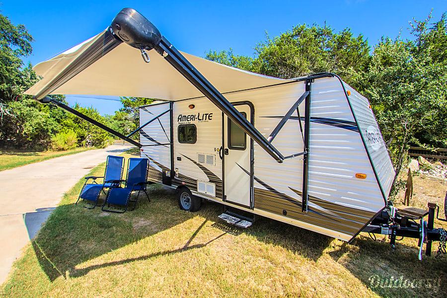 exterior Mighty Mini 2017 Gulf Stream Amerilite Dripping Springs, TX