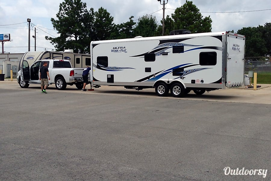 Work And Play Toy Hauler >> 2013 Forest River Work And Play