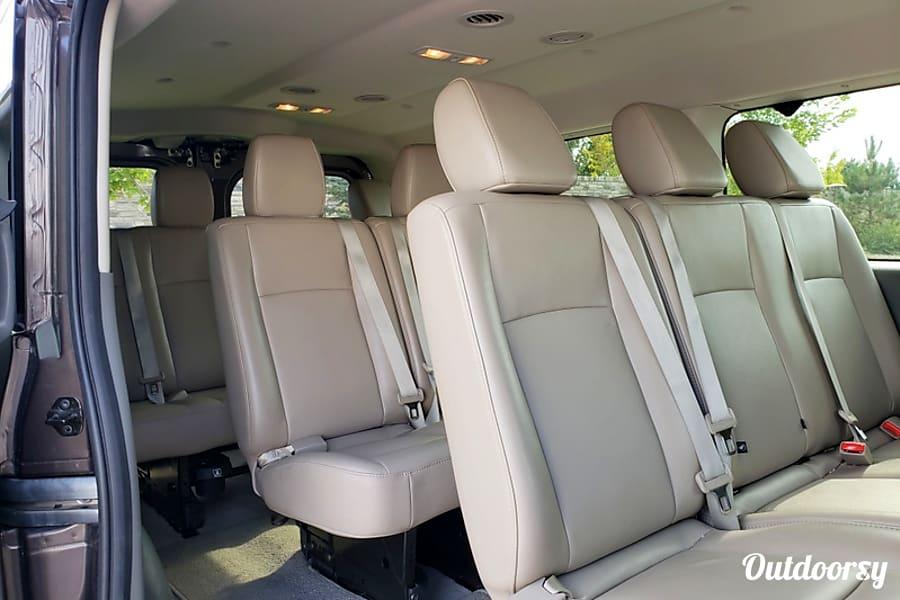 interior 2016 Nissan 12 Passenger Van NV SL Draper, UT