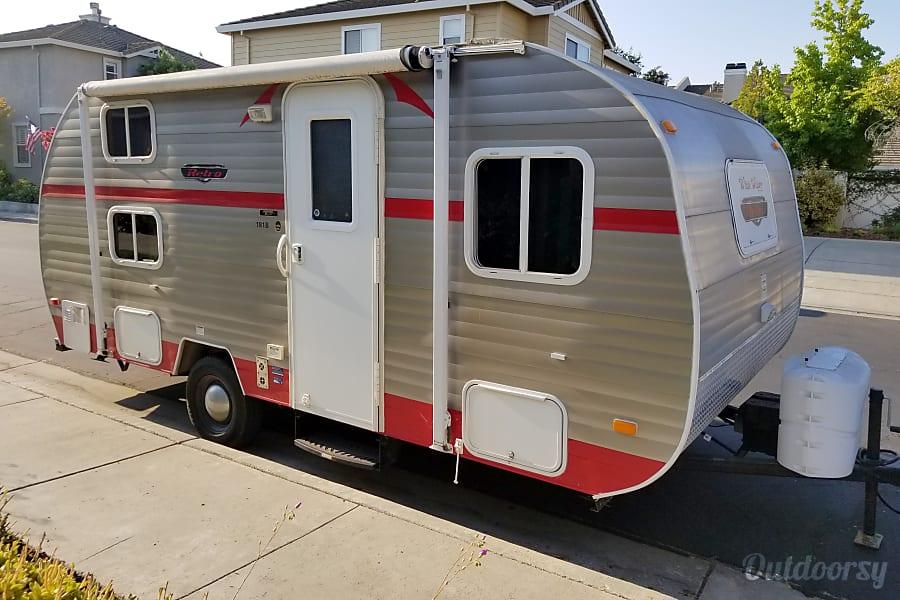 exterior 2015 Riverside Rv 18ft Retro Bunk-Bed San Jose, CA