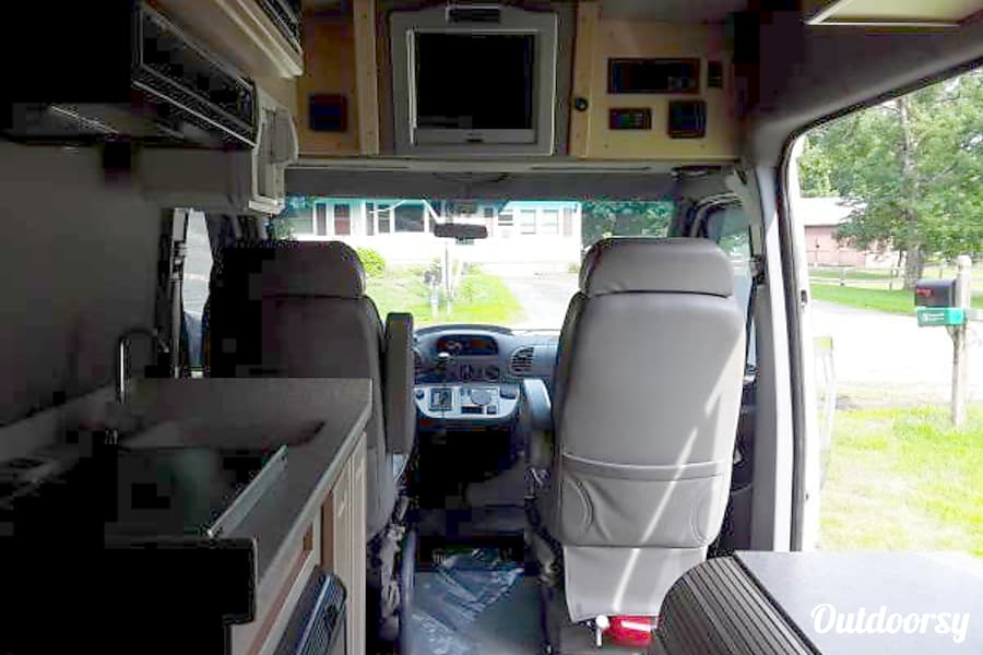interior 2003 Dodge Sprinter Van Dedham, MA