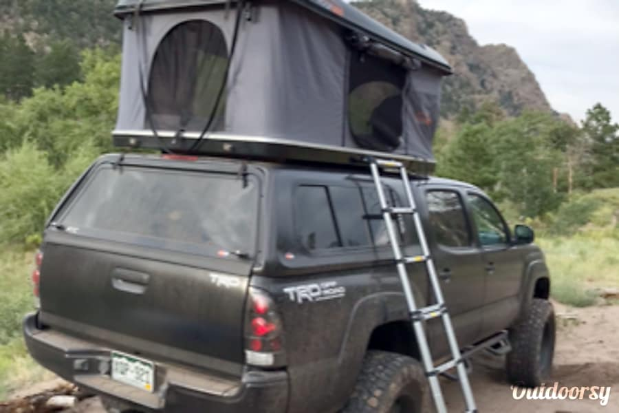 2008 Toyota Tacoma Motor Home Truck Camper Rental In