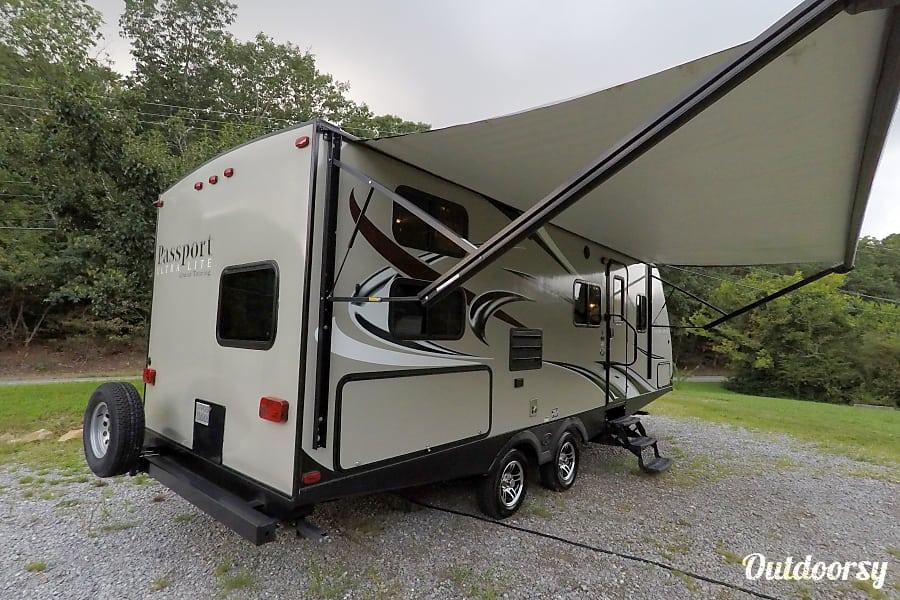 exterior Cloud Haven Retreat * Ultra-Lite * 2016 Keystone Passport 2400BH * Grand Touring Lookout Mountain, GA
