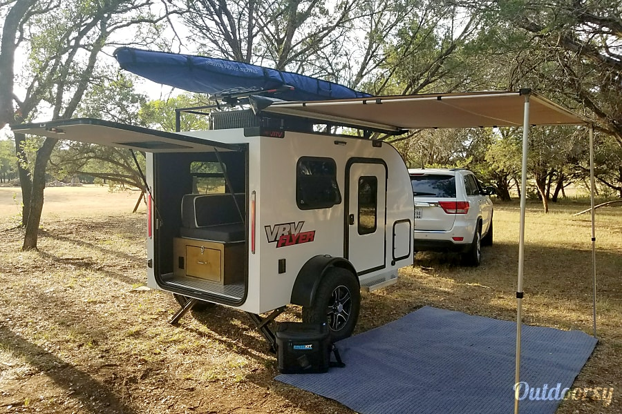 "exterior 2018 Custom Teardrop Camper (""WATERS"") Austin, TX"