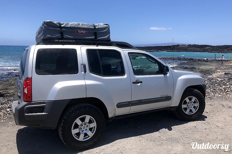 "exterior Maui ""Kekoa"" nissan xterra 4WD or similar Kahului, HI"
