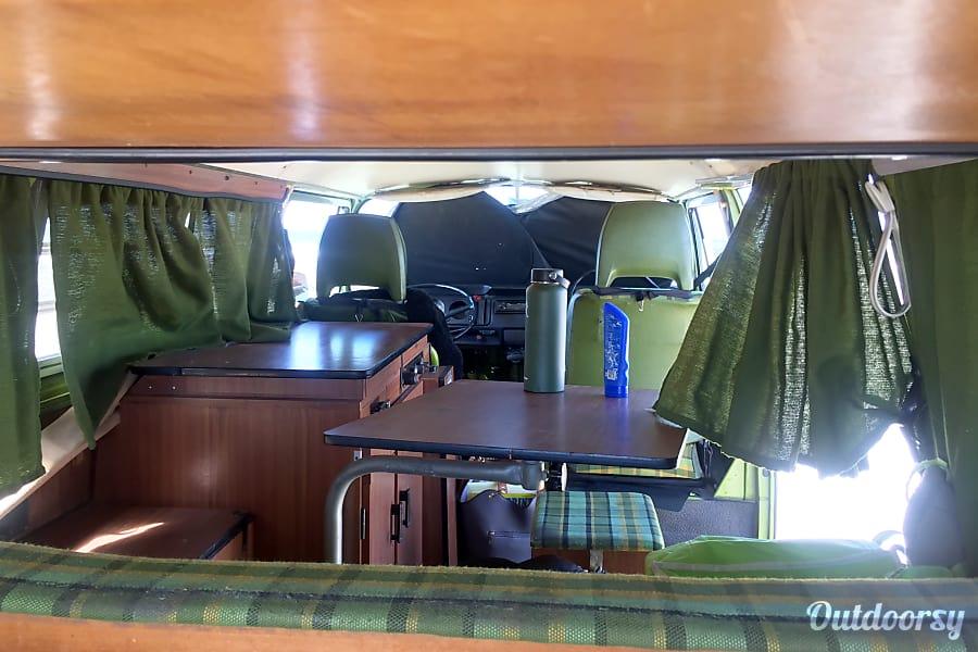 interior 1976 Volkswagen T2 Westfalia San Diego, CA
