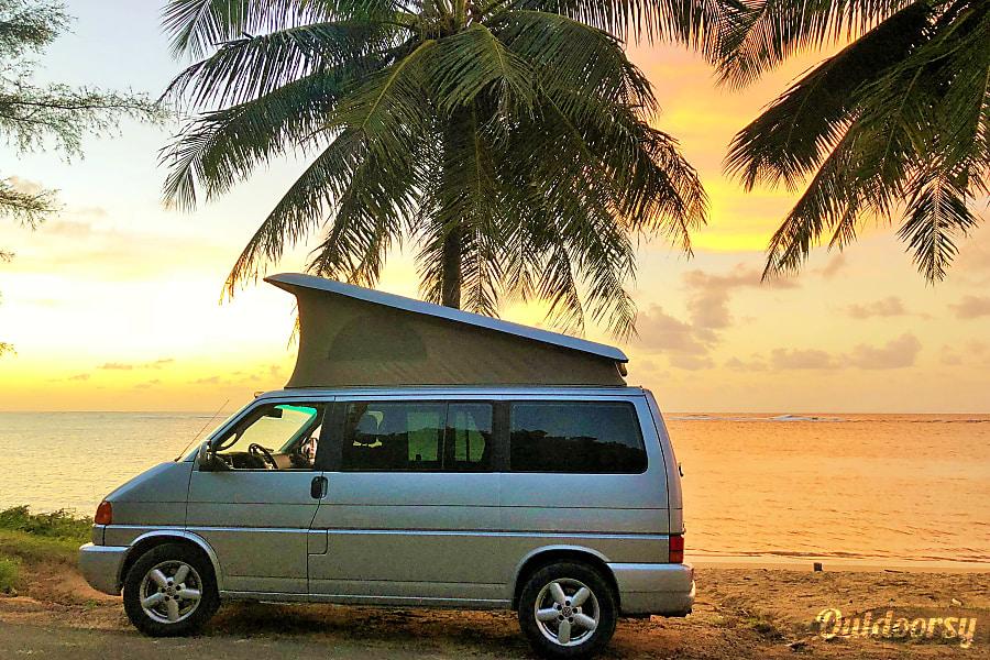 90da76bb07 2002 Volkswagen Westfalia Motor Home Camper Van Rental in Kauai