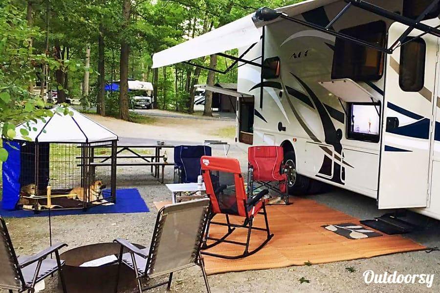 exterior 2016 Thor Motor Coach A.C.E 29.4 Raleigh, NC