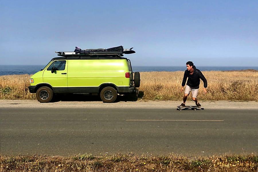 exterior 1997 Dodge Ram Van - Astro Turf ROOF DECK San Diego, CA
