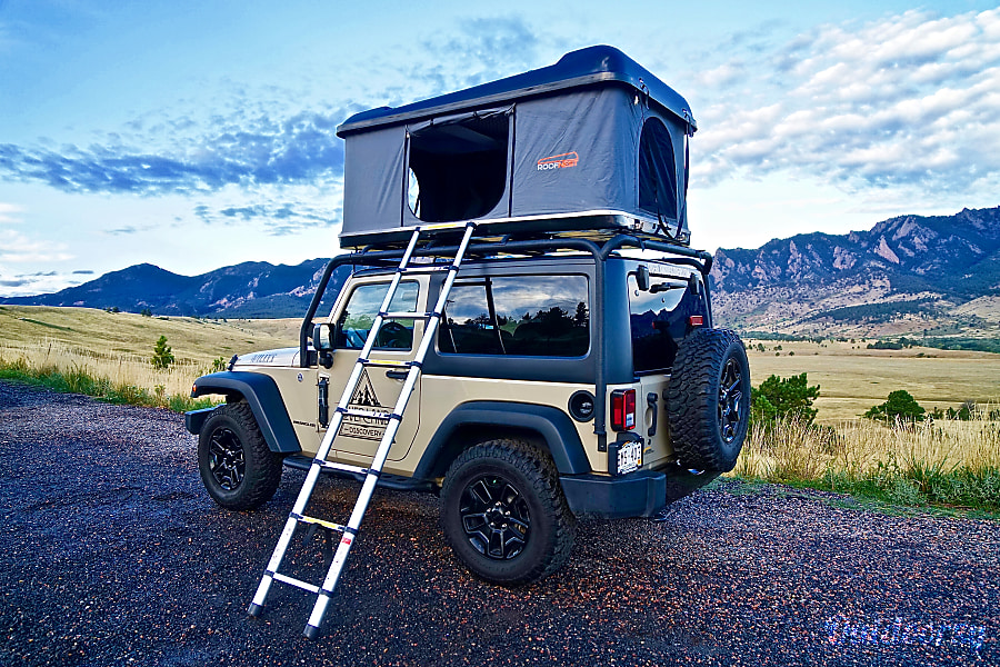 2017 Jeep Wrangler Willys Wheeler Motor Home Camper Van