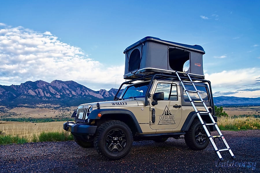 exterior Private Gobi | 2-Door Willys Wheeler Denver, CO