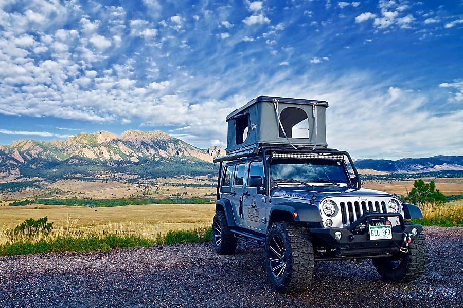 exterior Sergeant Silver | 4-Door Rubicon Denver, CO