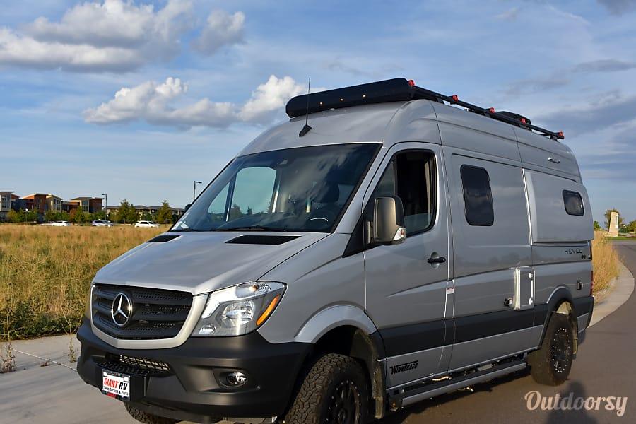 exterior 2019 Winnebago Revel 4X4 Denver, CO