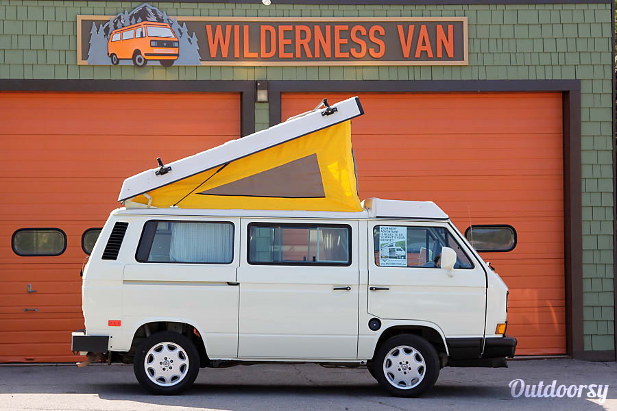 exterior 1990 Volkswagen Westfalia Manual Wilmington, NY