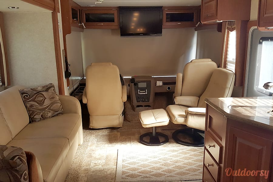 interior 2012 Forest River Georgetown Goshen, IN