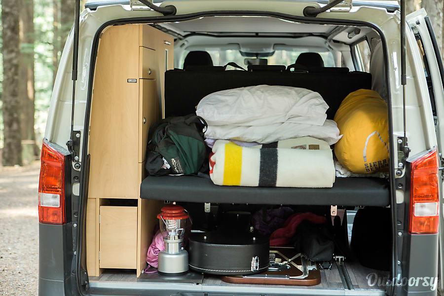 Peace Vans Modern #2: Salish - 2018 Mercedes-Benz Metris Full Camper Seattle, WA