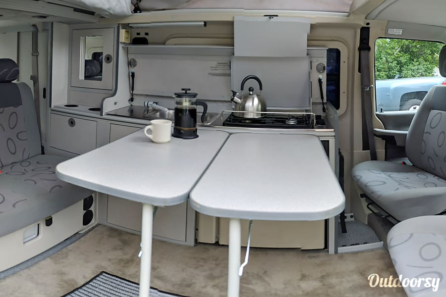 interior 2003 Winnebago VW Eurovan Camper Denver, CO