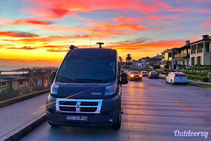 exterior 2019 Winnebago Travato 59G Class B Irvine, CA