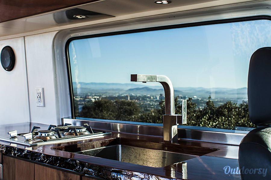 interior 2015 Mercedes-Benz B class campervan MB 140 San Luis Obispo, CA