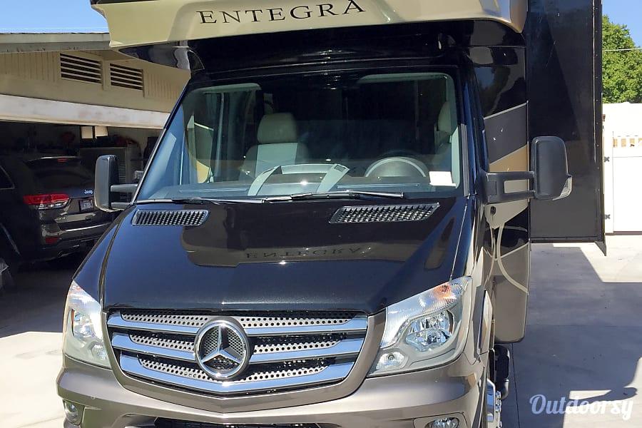 exterior New 2018 Entegra Coach Quest Mercedes Turbo Diesel Mesa, AZ