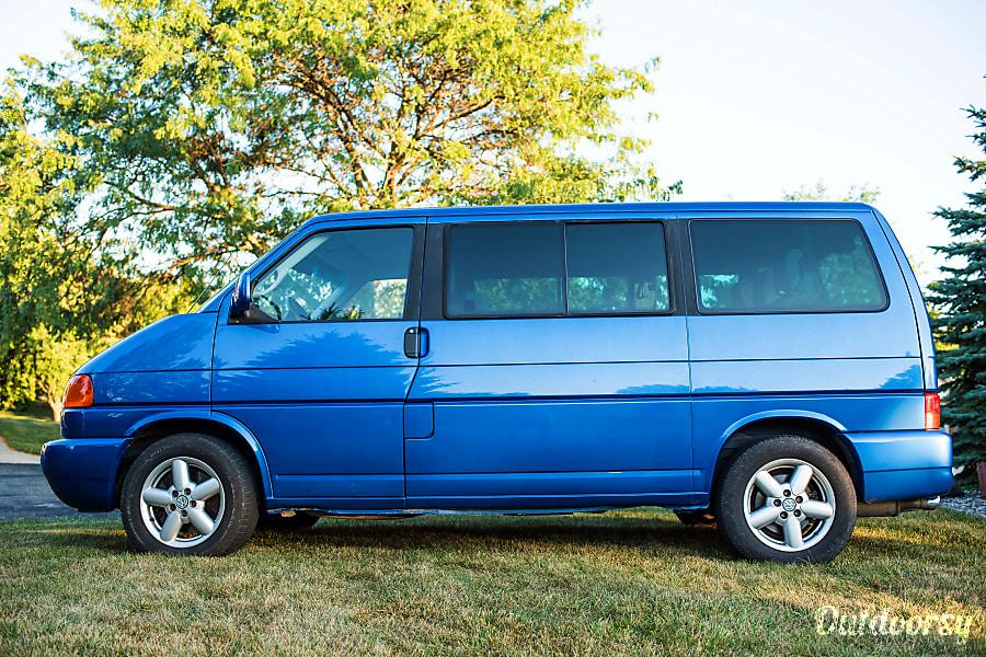 2003 Volkswagen Multivan Motor Home Camper Van Rental In Missoula