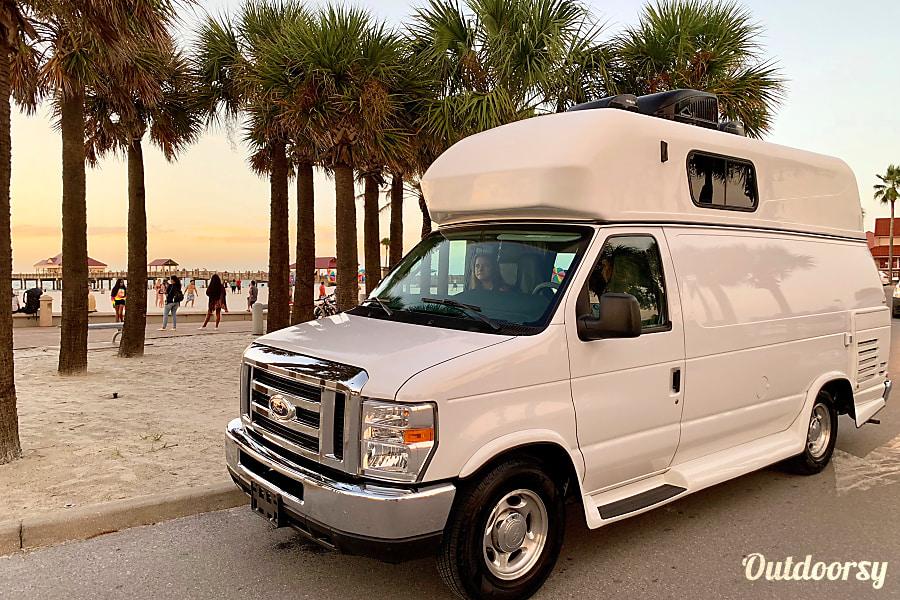 "exterior ""SANDY PARKER"" CUSTOM CAMPER VAN LOADED 2014 Ford E350 Brandon, FL"