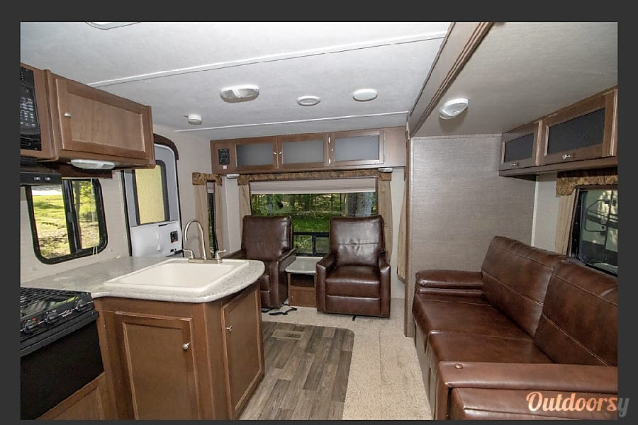 interior 2016 Keystone Bullet. The Bullet stops here!  Awesome Camper!  So much fun!  From Raleigh, NC Raleigh, NC