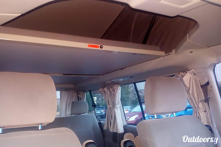 interior 2002 Blue VW Westfalia Portland Portland, OR
