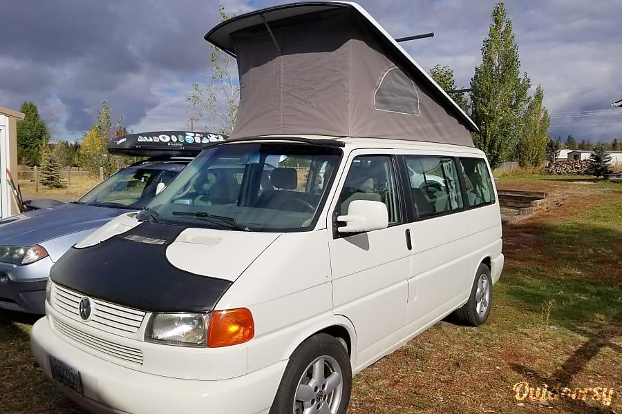 volkswagen weekender motor home camper van rental  missoula mt outdoorsy