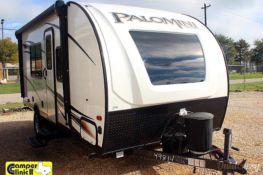 exterior 2018 Palomino Palomini 180 Front Bed Off Road Pkg Buda, TX