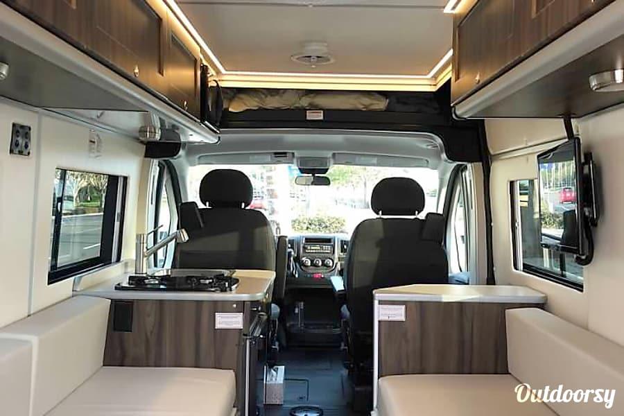 2018 Ram Promaster Carado Banff Motor Home Class B Rental