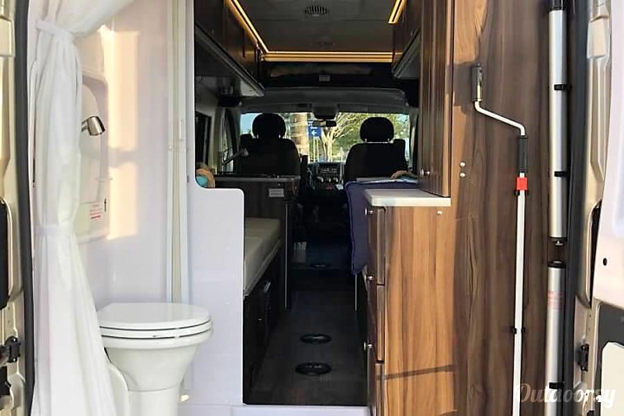 interior 2018 Ram Promaster Carado Banff RV Carlsbad, CA